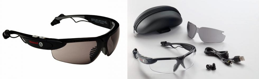 Skyddsglasögon ICOM™ med bluetooth!